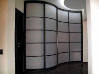 Радиусные двери шкафы купе радиусные