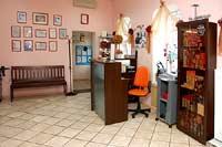 Студия красоты - место администратора